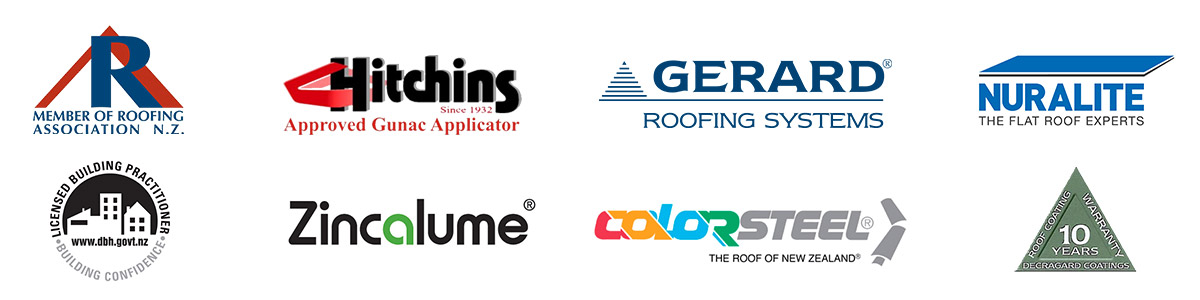 Wellington Roofing Supplier and Accreditation Logos